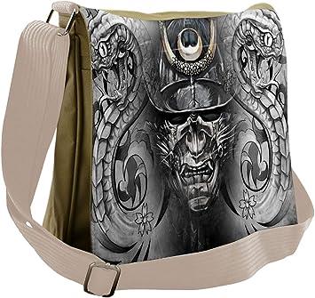 Messenger Bag,tropical Beach,Unisex Adult Shoulder Backpack Cross-body Sling Bag Travel Bag