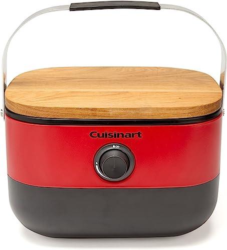 Cuisinart CGG-750 Portable, Venture Gas Grill, Red