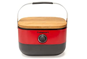 Cuisinart CGG-750 Venture Portable Gas Grill, Red