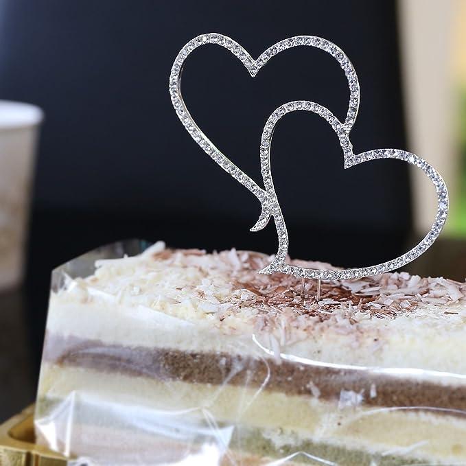 Kristall Bling Strass Tortendeko Tortenaufsatz Hochzeitstorte