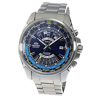 ORIENT perpetual calendar Automatic Mens Watch SEU0B002DH Navy Blue
