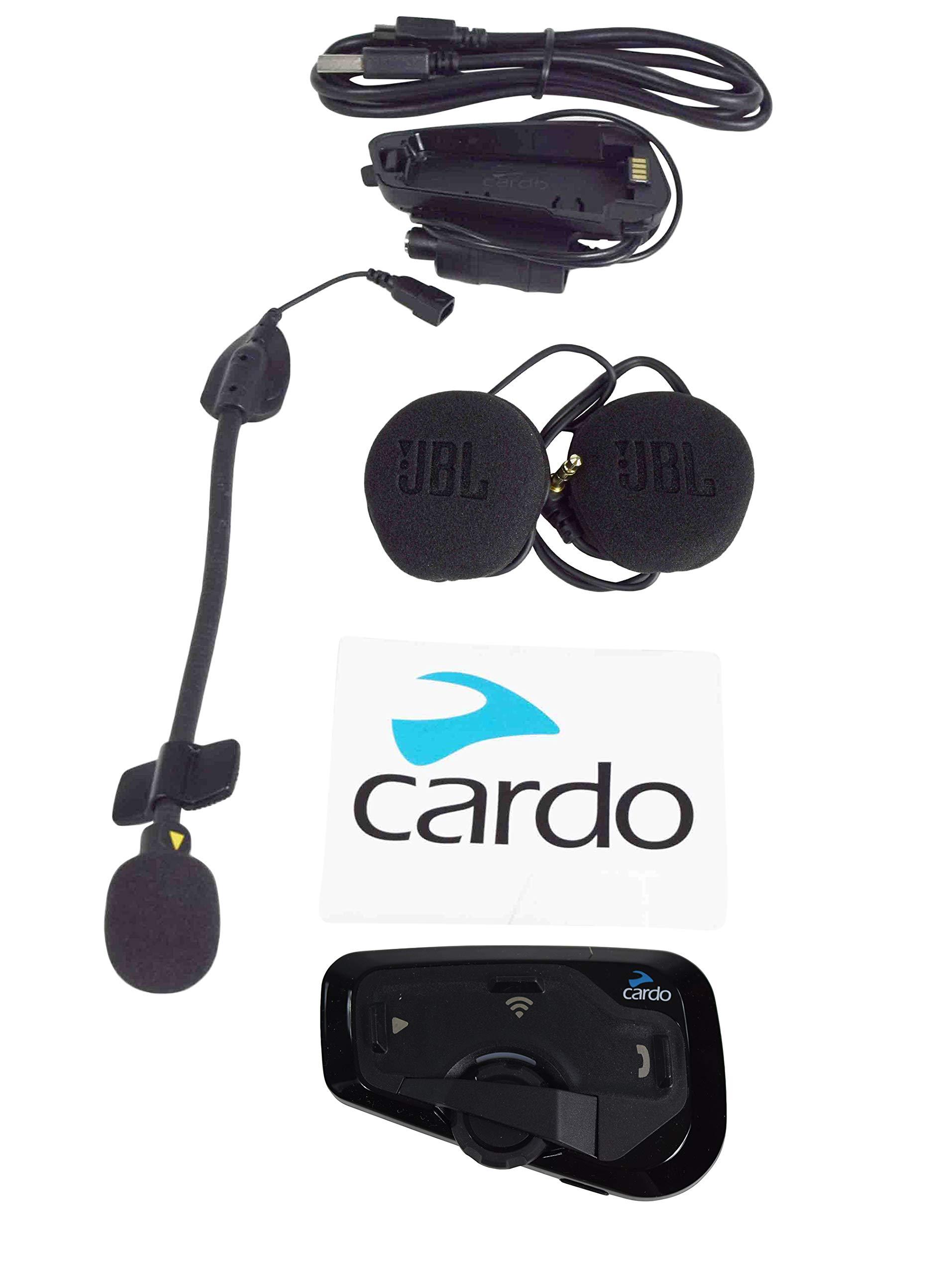 Cardo FREECOM 4+ Bluetooth Motorcycle Helmet Communication Headset JBL Audio (FREECOM 4+)