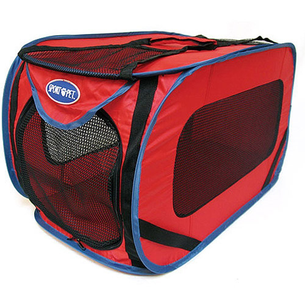 Sport Pet Designs Kennel Pro Pop Open, Large, Colors May Vary