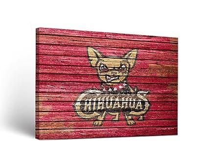 Amazoncom Victory Tailgate El Paso Chihuahuas Milb Canvas Wall