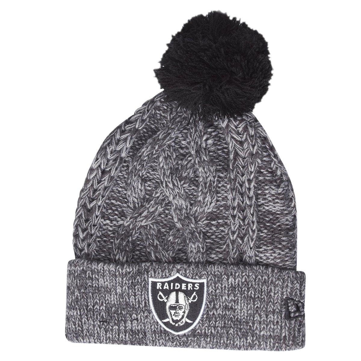 44b24260 New Era Oakland Raiders Beanie One Size Black