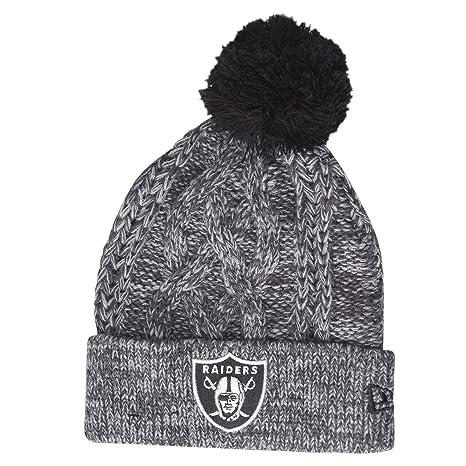 New Era NFL OAKLAND RAIDERS Graph Team Knit  Amazon.it  Sport e ... 27d3c5e03a17