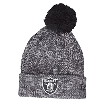 New Era Oakland Raiders Beanie One Size Black  Amazon.co.uk  Sports ... e03991898d1