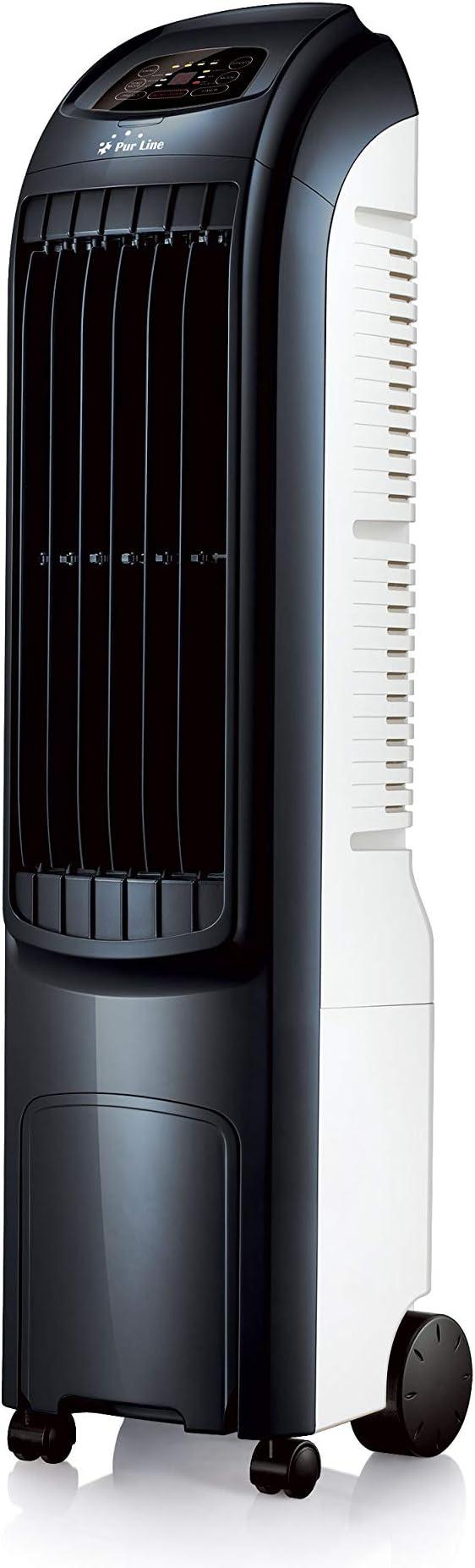 PURLINE Climatizador evaporativo electr/ónico bajo Consumo con Temporizador y Mando a Distancia RAFY 99