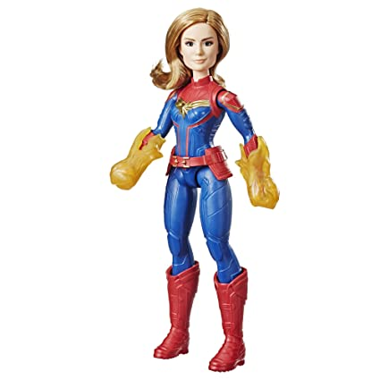 Captain Marvel Doll by Hasbro