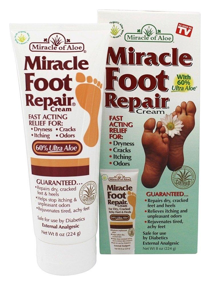Miracle Foot Repair Cream - 240ml Miracle of Aloe MFRS-MC24/6