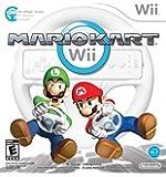 Mario Kart Wii With Wii Wheel(Nintendo Wii)