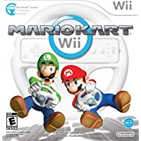 Mario Kart With Wii Wheel / Game
