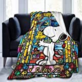 99999 Cute SNO-opy Ultra-Soft Micro Fleece Blanket 3D Printed Blanket Lightweight Throw for The Bed Quilt Super Soft…