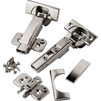 Full Overlay Blum 110 Deg Soft Close BLUMotion Clip Top Frameless Hinges,  Pair