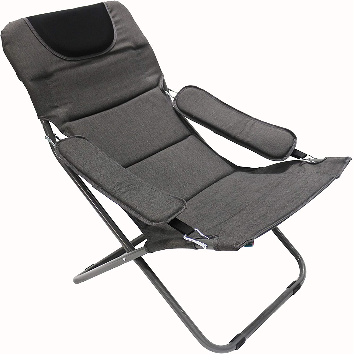 Homecall Chaise de camping pliable