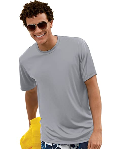 6f4b4b7e Image Unavailable. Image not available for. Color: Hanes 4820 Hanes Cool  DRI TAGLESS Men's T-Shirt