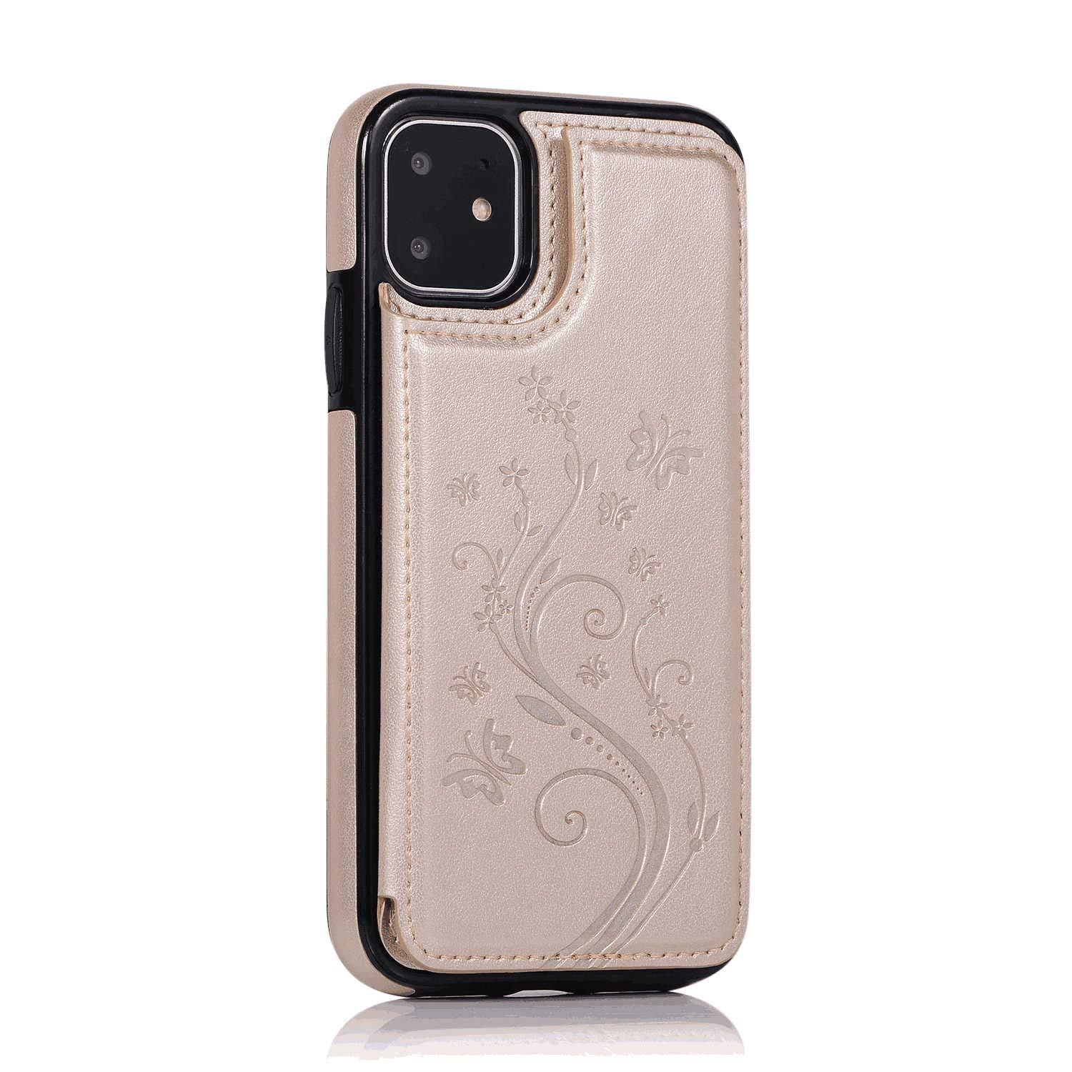 WiseSwim Simple-Style Leather Case for iPhone 7 Flip Cover fit for iPhone 7 Business Gifts