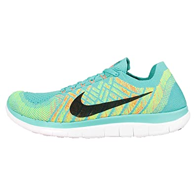 official photos 16bea 7ac20 Nike Free Flyknit 4.0 Men s Running Shoes 631053-402 Size 14 Blue Green   Amazon.co.uk  Shoes   Bags