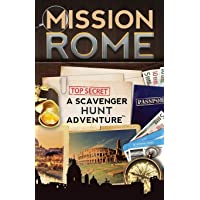 Mission Rome: A Scavenger Hunt Adventure: (Travel Book For Kids)