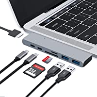 Deals on Pukey USB C Hub HDMI Adapter Compatible with MacBook Pro