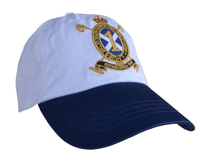Ralph Lauren - Gorra de béisbol - para hombre Multicolor blanco y azul Talla única: Amazon.es: Ropa y accesorios