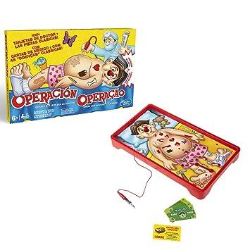 Operacion Hasbro Gaming Hasbro B2176b09 Amazon Es Juguetes Y