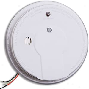 Kidde i12020 Hardwired Smoke Alarm with Hush Button, Interconnectable