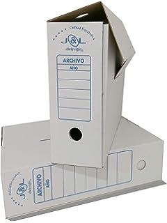 Chely Intermarket, Caja de archivadores cartón montaje automático ...