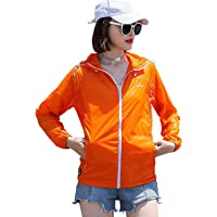 Sidiou Group Women Sun protection Clothing UV beathable Jacket UPF 50+ Hoodie for Running Fishing Cycling