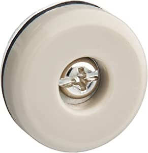 SHEPHERD HARDWARE 9452 Slide Glides Round Self-Adhesive Furniture Sliders, 1
