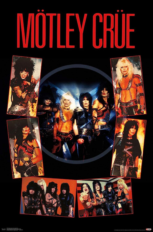 "Trends International Motley Crue - Shout at The Devil, 22.375"" x 34"", Premium Unframed"