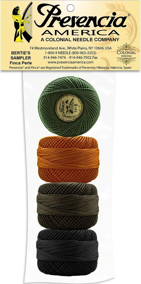 77 Yard Balls Size 8-6 Colors Pastel Sampler Embroidery /& Quilting Presencia Pearl Cotton Thread Sampler Sashiko