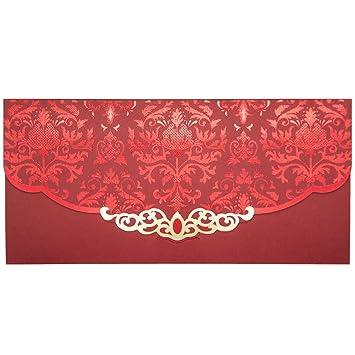 Thxtoms Chinese Red Briefumschläge Traditionelle
