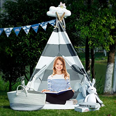 low priced 4075e ba408 hot sale scriptract Kids& Pets 6ft Teepee Tent Playhouse 100 ...