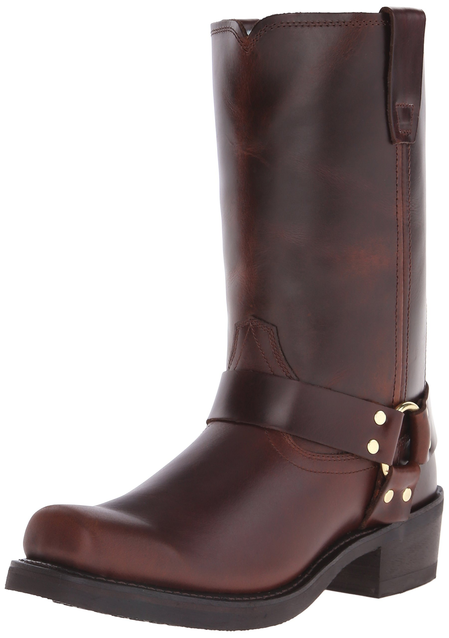 Durango Men's DB514 11'' Harness Boot Rubbed Brown 11 EE - Wide