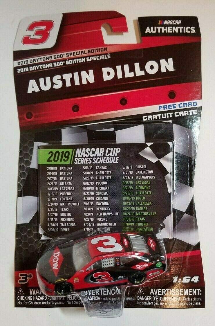 Amazon Com Nascar Authentics Austin Dillon 3 Daytona 500 Wave Special Edition 2019 1 64 Toys Games