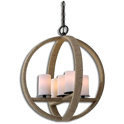 Uttermost 21997 Gironico Round 5 Light Pendant