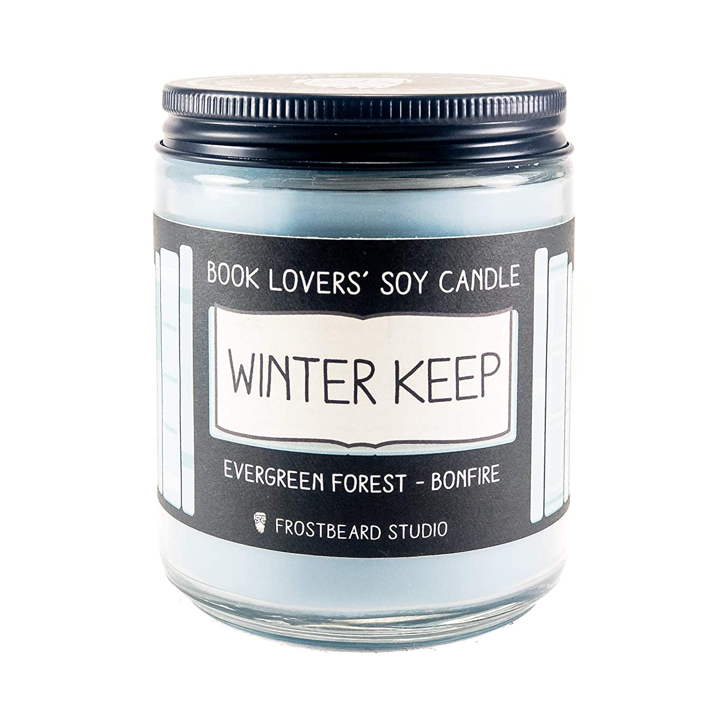 Winter Keep - Book Lovers' Soy Candle - 8oz Jar