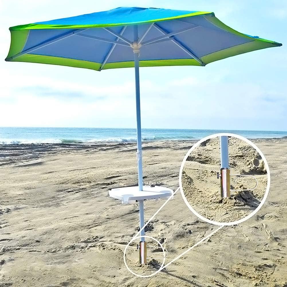 Supporto per Ombrellone per Giardino//Spiaggia//Cortile BESTCZ Base per Ombrellone Portaombrelli Portatile Base per Ombrellone in Metallo Punta per Ombrellone Stabile Supporto per Ombrellone