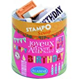 Aladine - 03706 - Tampons À Imprimer - Stampo Scrap - Anniversaire