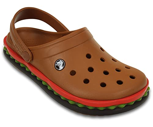 439ec522f crocs Unisex Crocband Hamburger Multi-Color Clogs and Mules - M9 W11  Buy  Online at Low Prices in India - Amazon.in