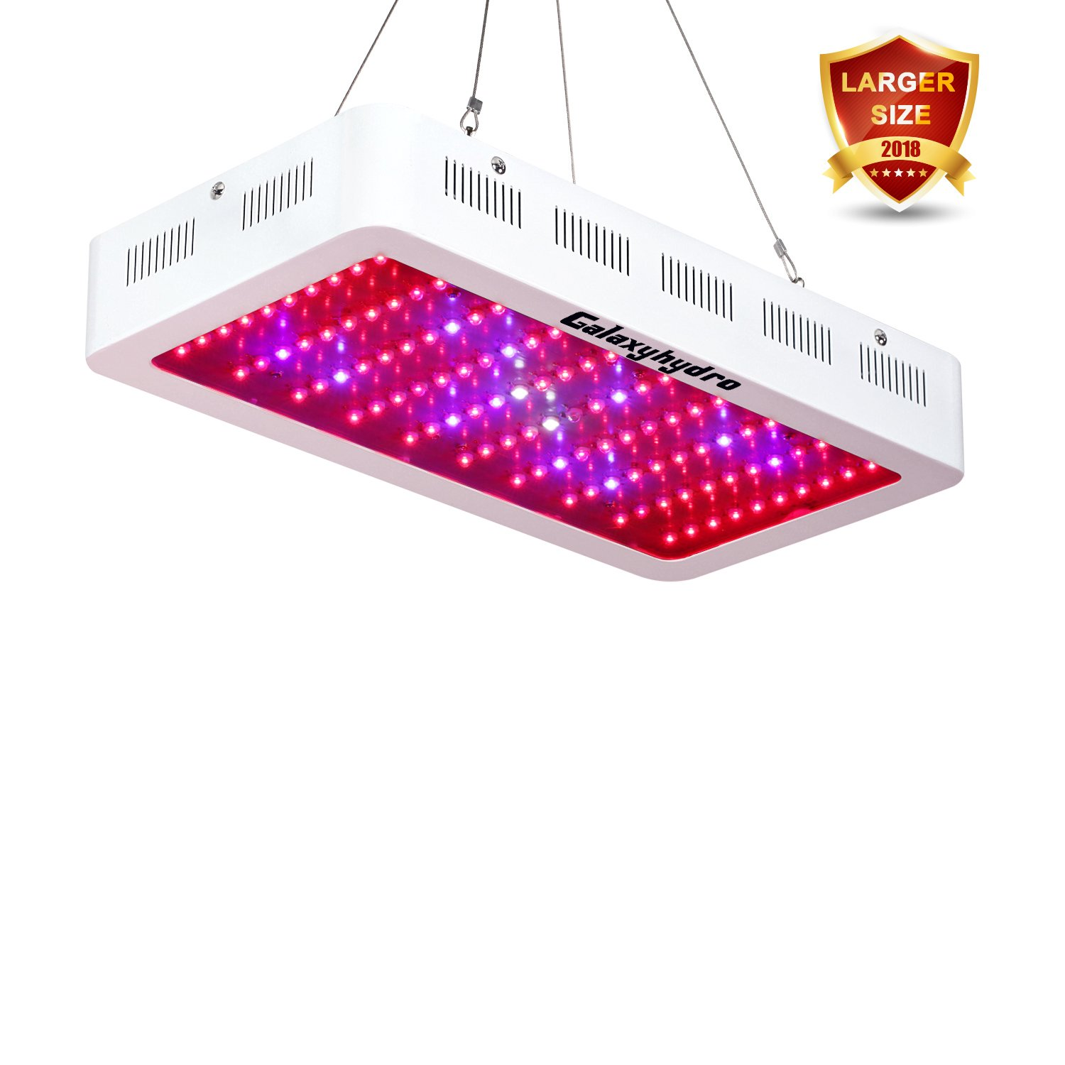 Amazon Roleadro 300w LED Grow Light Galaxyhydro Series Full