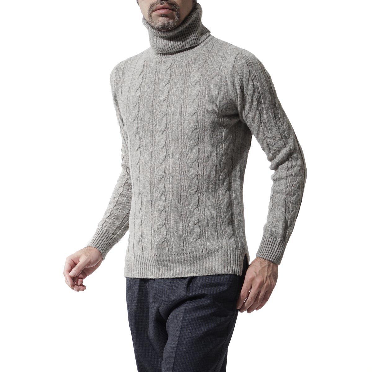 (ザジジ) THE GIGI タートルネック セーター/ハイネック セーター/EDGAR [並行輸入品] B076CFMQ7B S グレー グレー S