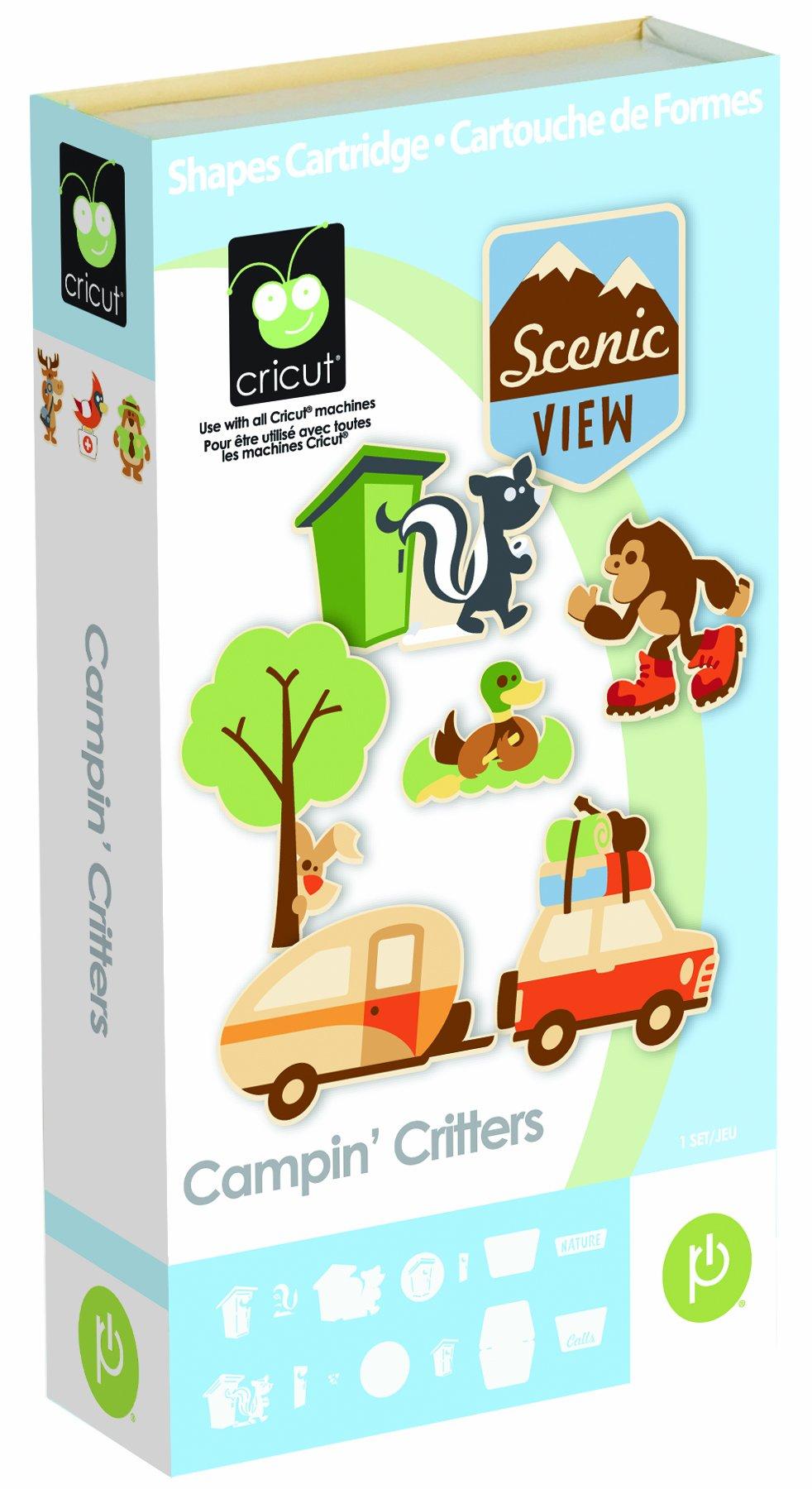 Cricut 2000933 Campin' Critters Cartridge