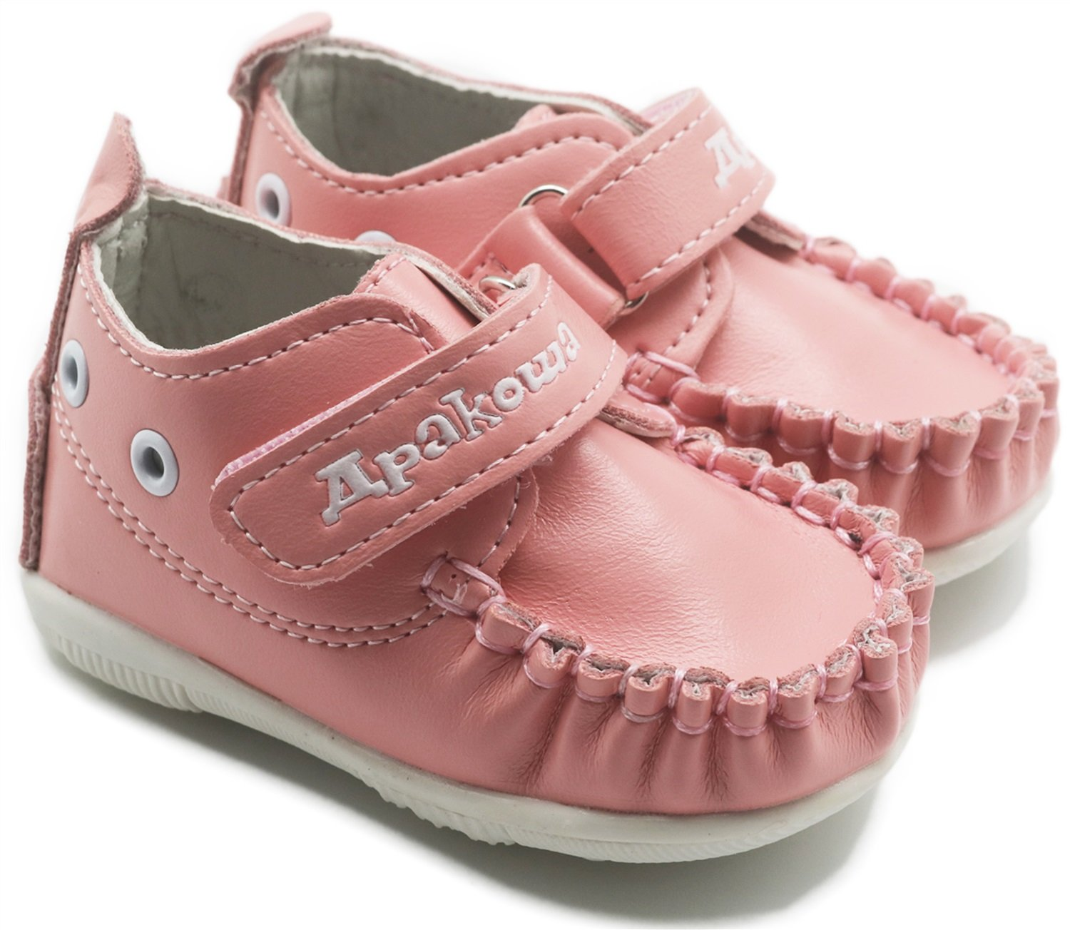 Dig dog bone Boys Girls Rubber Sole Sneaker First Walkers Shoes Infant Casual Shoes Color : Pink, Size : 3.5 M US Toddler