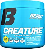 Beast Sports Creature Creatine Complex- 5 High Quality Forms of Creatine including Creatine Monohydrate. Build Muscle Fast. 2 Time Creatine Supplement of the Year. 150 Gms, 30 Servings, Citrus