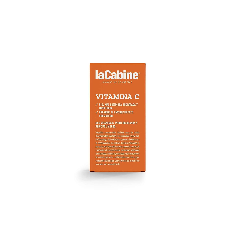 La Cabine Ampollas Vitamina C Facial - Sérum Anti Ojeras y Antioxidante - Prevención del Envejecimiento y Luminosidad