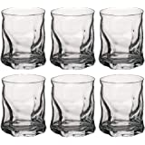 Bormioli Sorgente Glasses, short, 42 cl, Box of 6.