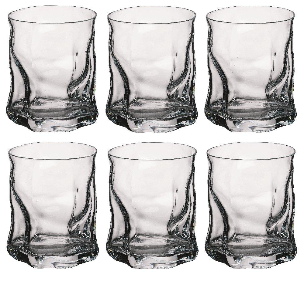 Bormioli Rocco Sorgente Whisky Glasses Set Of 6 X 420ml Ebay