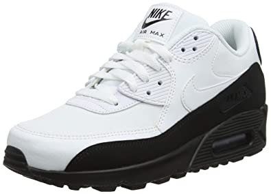 992d919f46260 Nike Men's's Air Max 90 Essential Low-Top Sneakers Black/White 006, 5.5